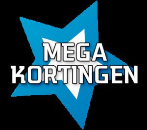 mega-kortingen